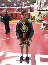 Youth Wrestlers Compete at Cumberland Valley Individual Tournament