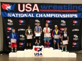 Jorden Williams Storms ASICS Kid's Nationals; 2nd in Freestyle & Greco