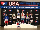 Jorden Williams Storms ASICS Kid's Nationals; 2nd in Freestyle &Greco