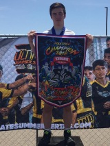 Fickes Leads Team PA in San Diego's USS tournament; Wins Individual Title, Too