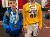 Fickes and J. Williams Medal at NortheastRegionals